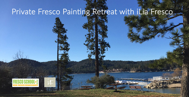 Master Class: 4 - Day Private Fresco Painting Mountain Retreat with iLia Fresco